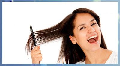 rambut rontok, mengatasi, alami, ampuh