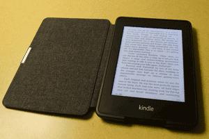 Lector electrónico o ereader, dispositivo móvil para leer ebooks