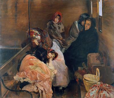 """Joaquín Sorolla, """"Trata de blancas"""", 1894"""