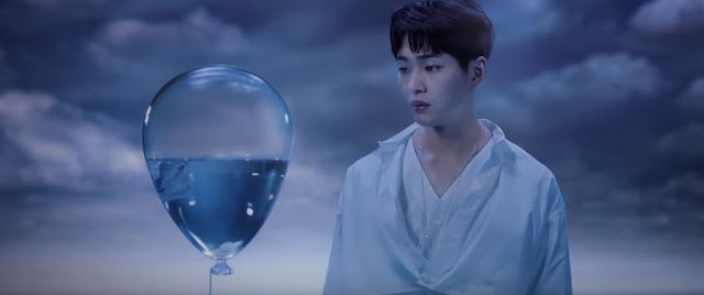 onew blue mv