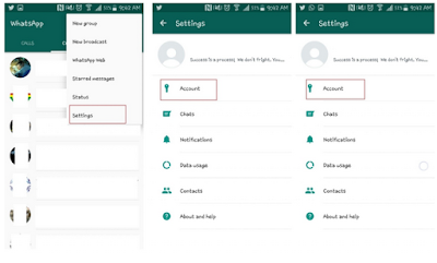 Cara mencegah seseorang dari Hacking di Whatsapp Anda [ Mencegah Whatsapp di Sadap ], Begini langkahnya
