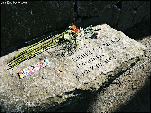 Tumbas Brujas Salem: Rebecca Nurse - Ahorcada