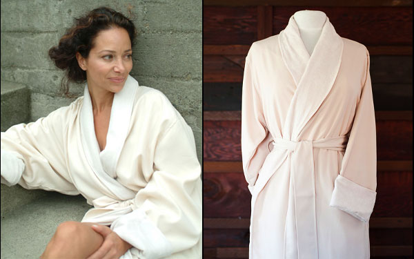 ce045bb2895 Women love luxury spa bathrobes for both home and travel. Why not make it a  Telegraph Hill bathrobe  Use coupon code ...