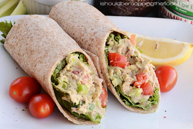 Image result for Tuna Wraps With Avocado