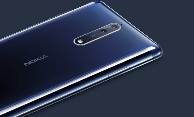 Nokia 8 launched in Thailand for 19500 Baht