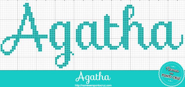 Nome Agatha em Ponto Cruz