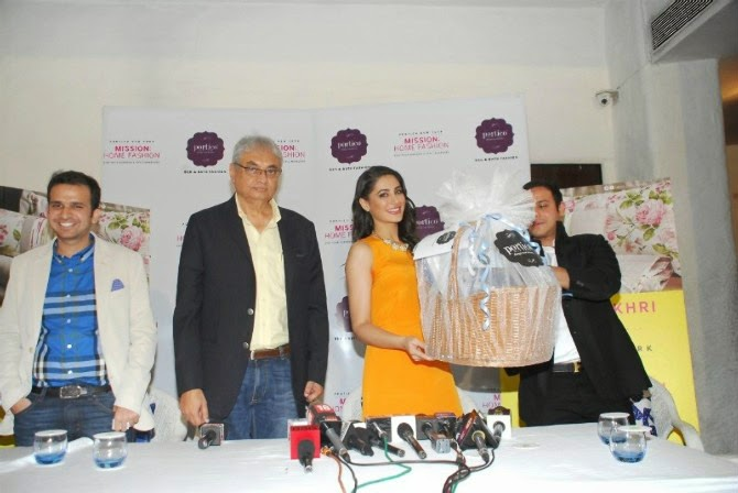 Nargis Fakhri At Mission Home Fashion Launch