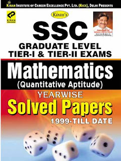 Kiran'S SSC Graduate Level Tier I and Tier II Exams: Mathematics Yearwise Solved Papers 1999 To Till Date (English), 1849