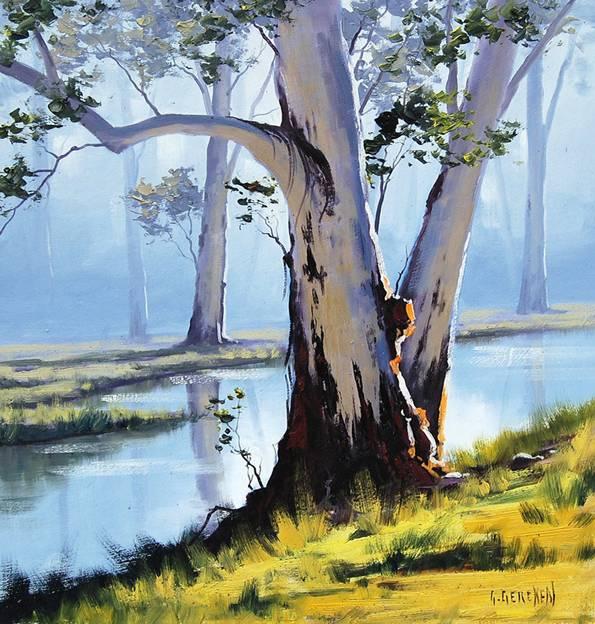 Galeria Pinturas De Arte: Por Amor Al Arte: Hermosas Pinturas De Paisaje Del Artista