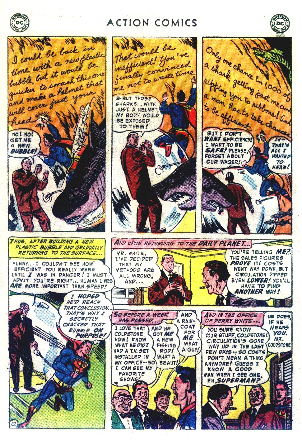 Read online Action Comics (1938) comic -  Issue #192 - 14
