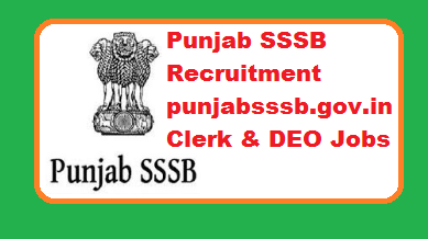 Punjab SSSB Recruitment 2019