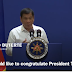 Duterte is first in TIME`s video of world leaders congratulating Trump