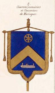 Bannières des Charrons de Maringues, Auvergne