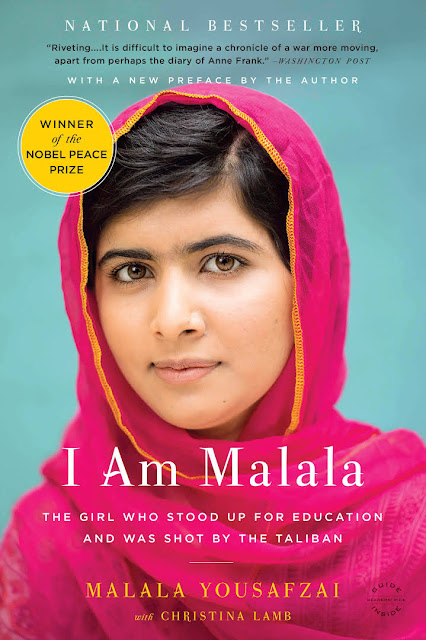 : Cover photo of the book I Am Malala: The Girl Who Stood Up For Education And Was Shot By the Taliban by Malala Yousafzai with Christina Lamb