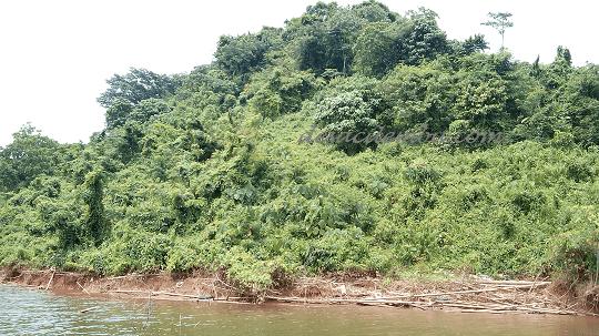 Pulau di Tengah Waduk Jatigede Sumedang