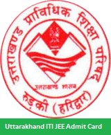 Uttarakhand ITI JEE Admit Card