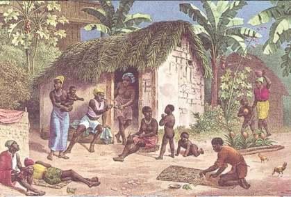 Quilombo dos Palmares  no Estado de Alagoas
