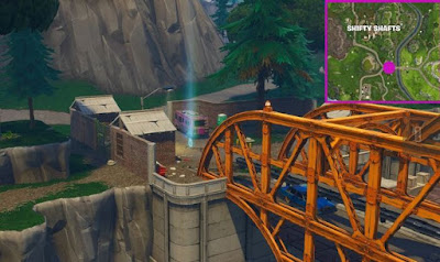 Timed Trial Locations, Fortnite, Shifty Shafts