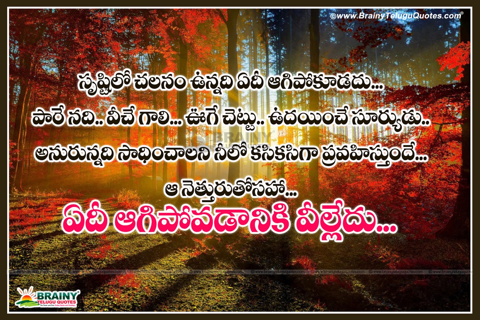 Self Respect Quotes Best Inspirational Telugu Quotes With Beautiful Images