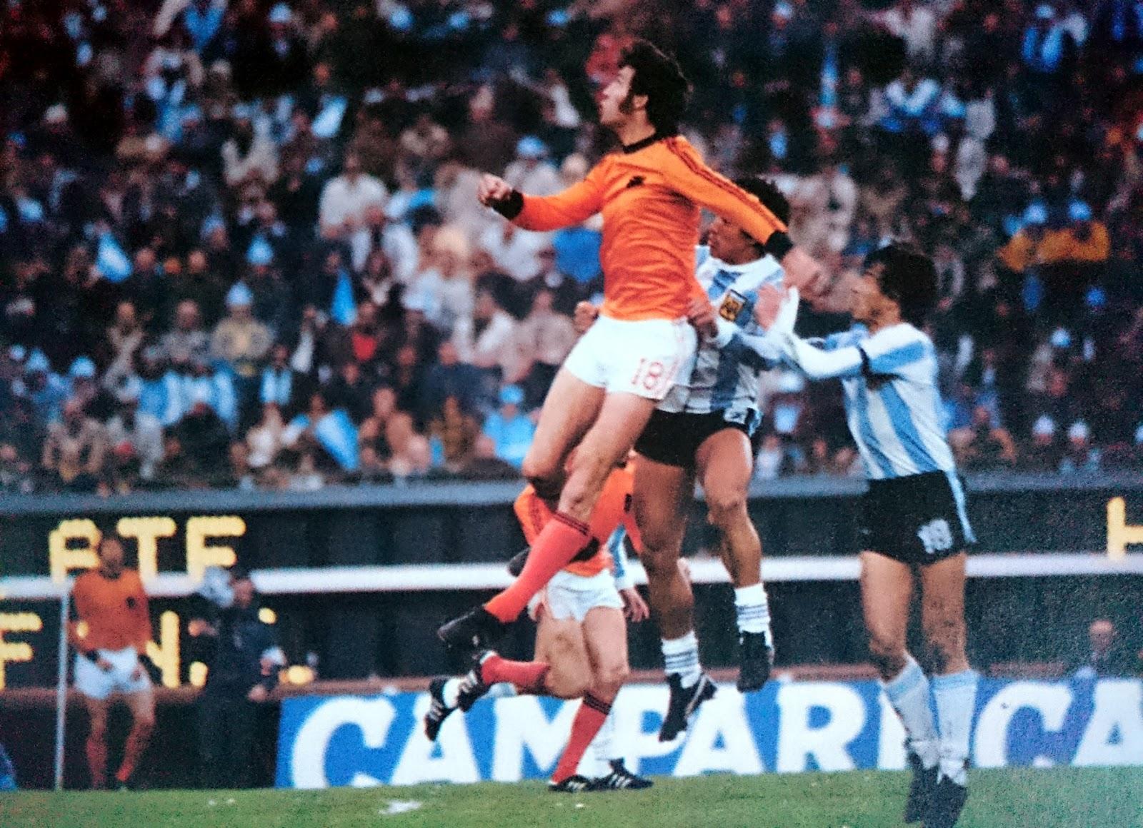 The vintage football club argentina 78 la finale - Finale coupe du monde 1978 ...