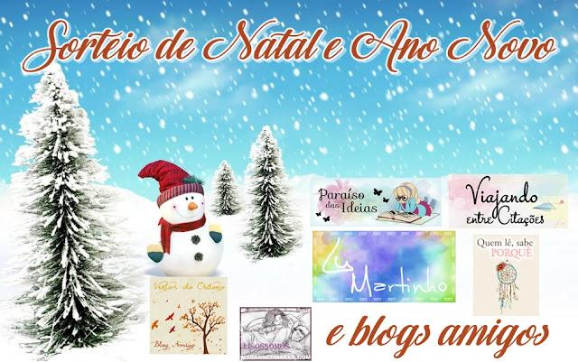 [Sorteio] Natal e Ano Novo Blogues Amigos!!!