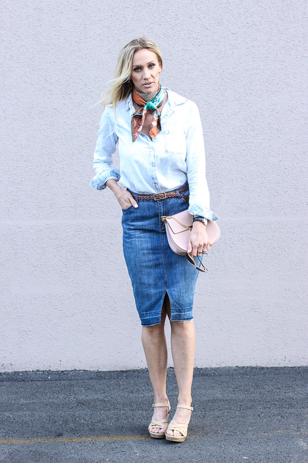 how to wear a silk scarf for spring parlor girl