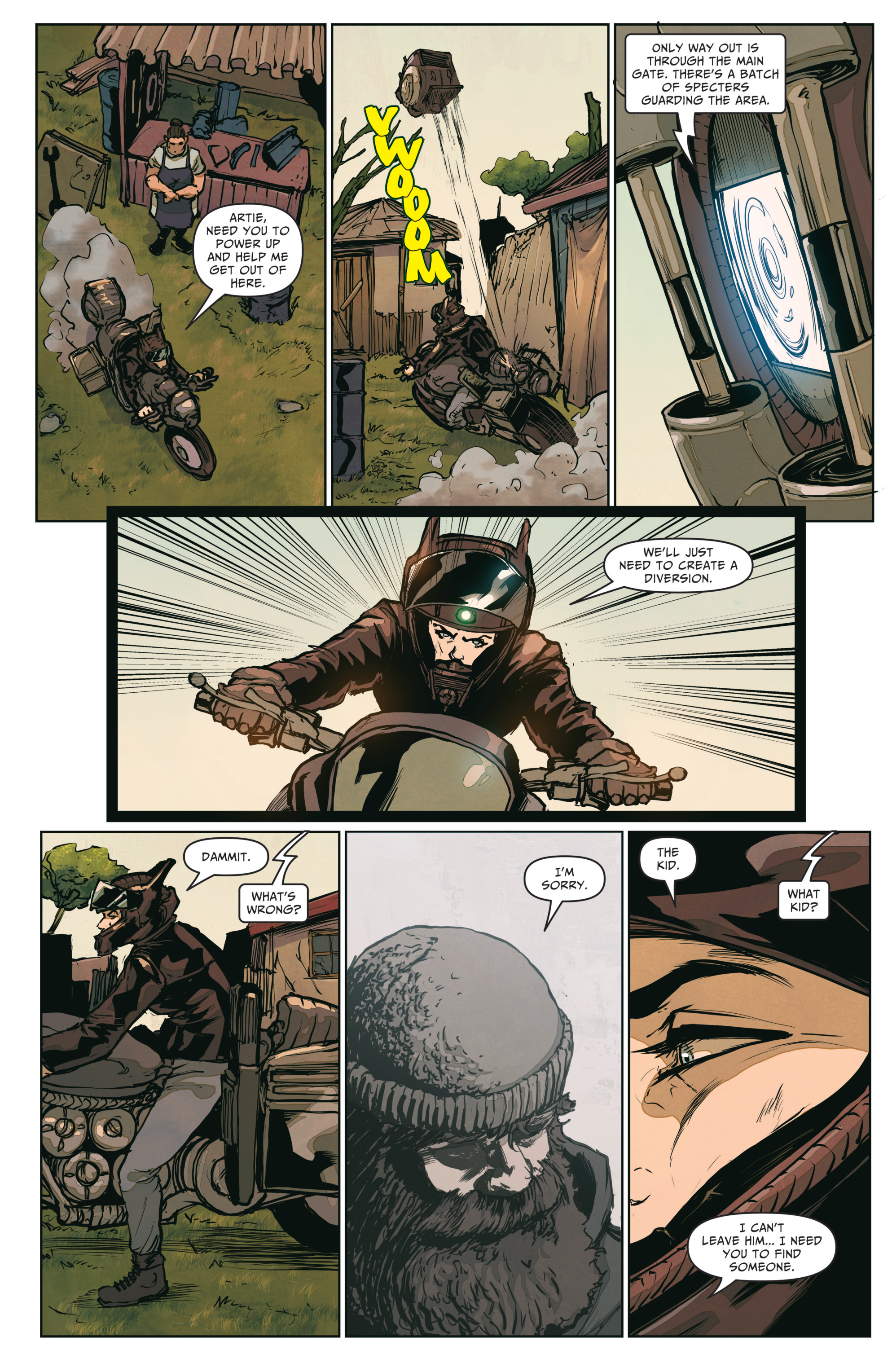 Read online The Courier: From the Ashes comic -  Issue #3 - 15