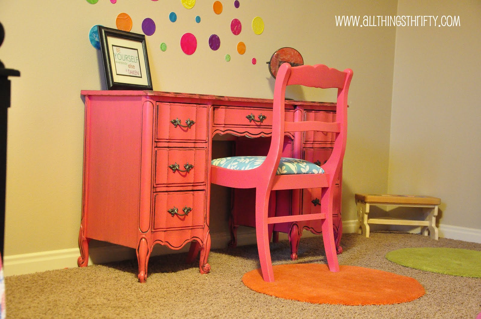 Chair Stand Up Trick Desk N Refinished Pink Tips And Tricks