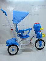 3 Sepeda Roda Tiga GoldBaby F7-1 Bebek in Blue