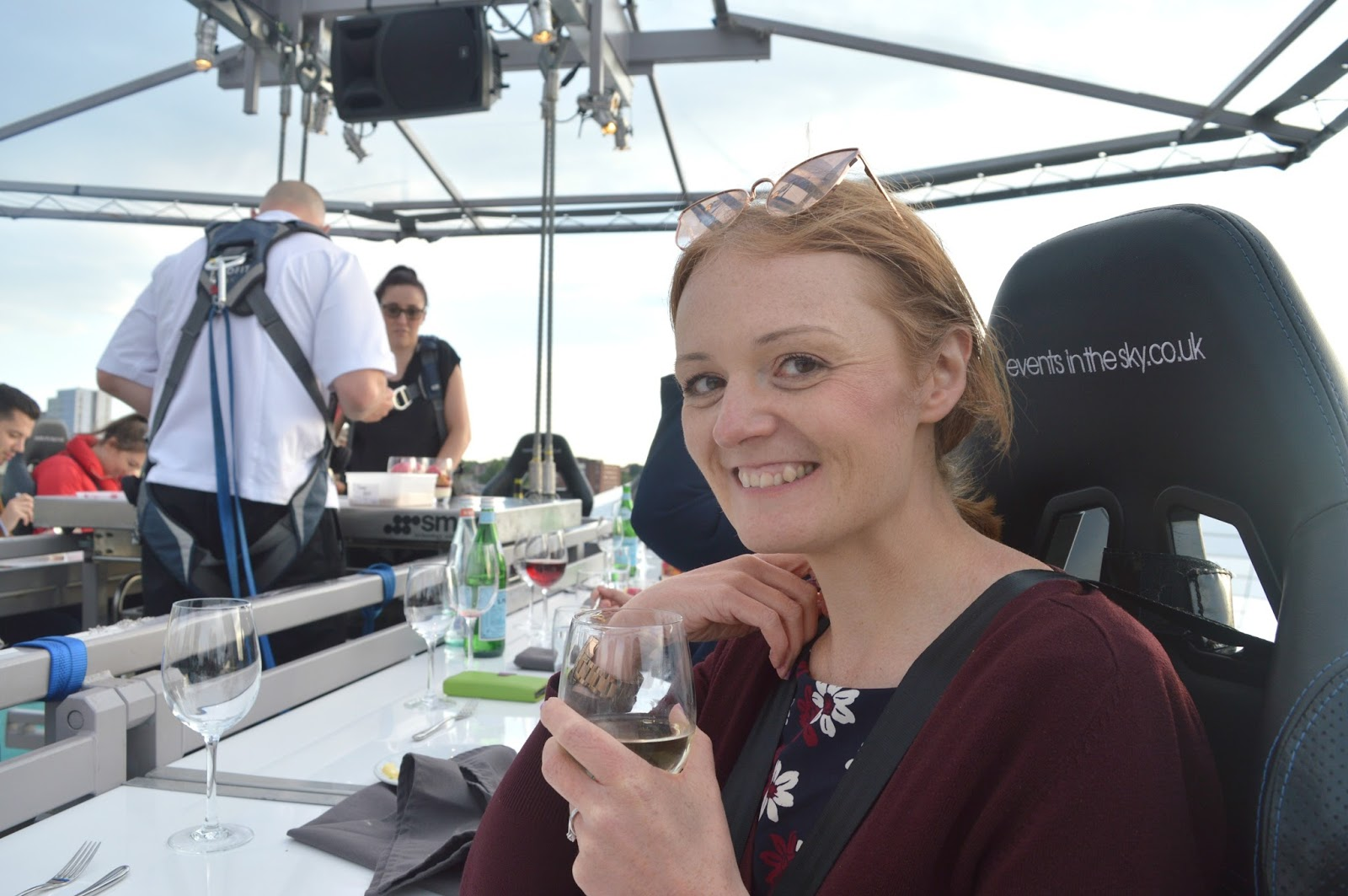 Newcastle in the Sky, Dining at 100 ft with Artisan