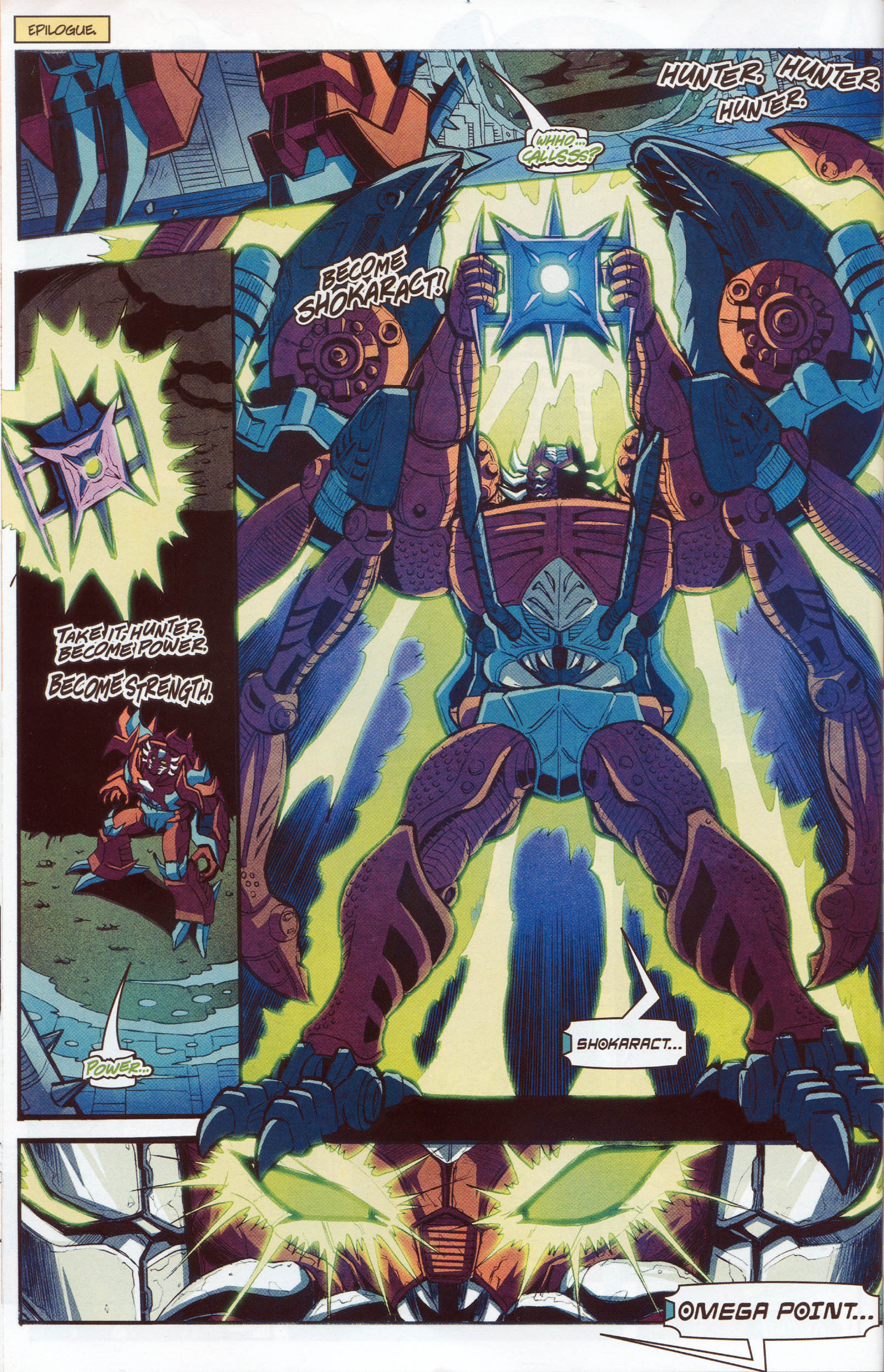 Read online Transformers: Timelines comic -  Issue #10 - 24