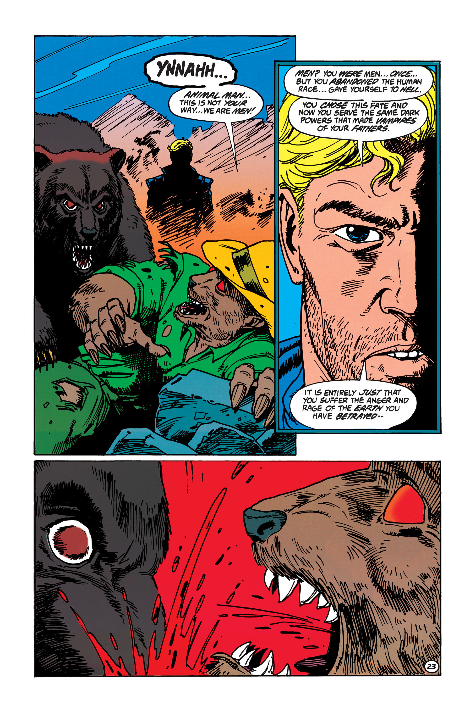 Read online Animal Man (1988) comic -  Issue #40 - 24