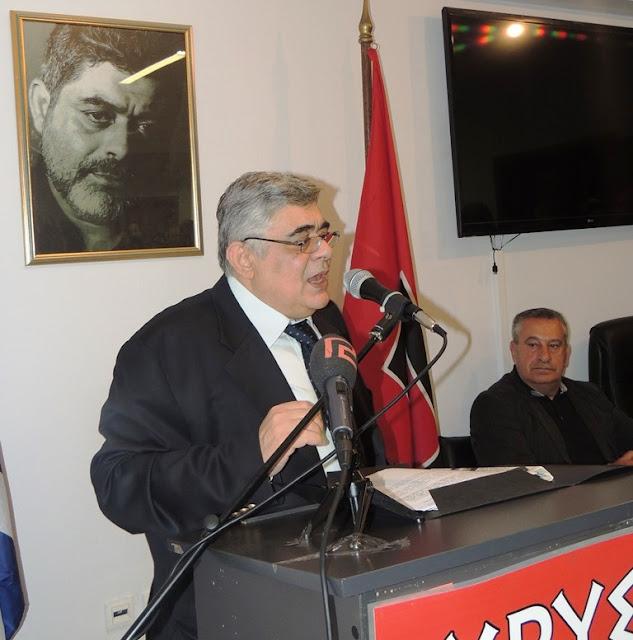 Κοσμοσυρροή στην Τ.Ο. Αθηνών για την ομιλία του Αρχηγού της Χρυσής Αυγής - Φωτορεπορτάζ