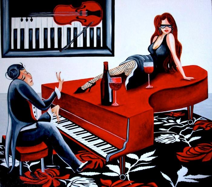 Американский художник. k. Madison Moore