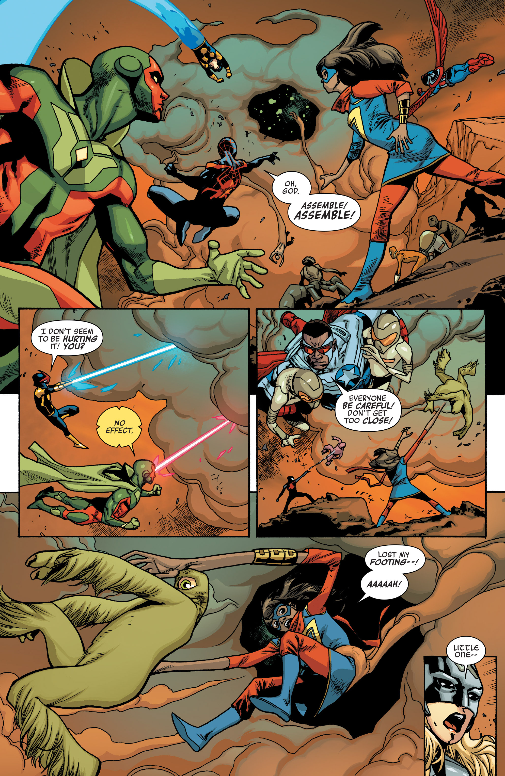 Read online All-New, All-Different Avengers comic -  Issue #10 - 12