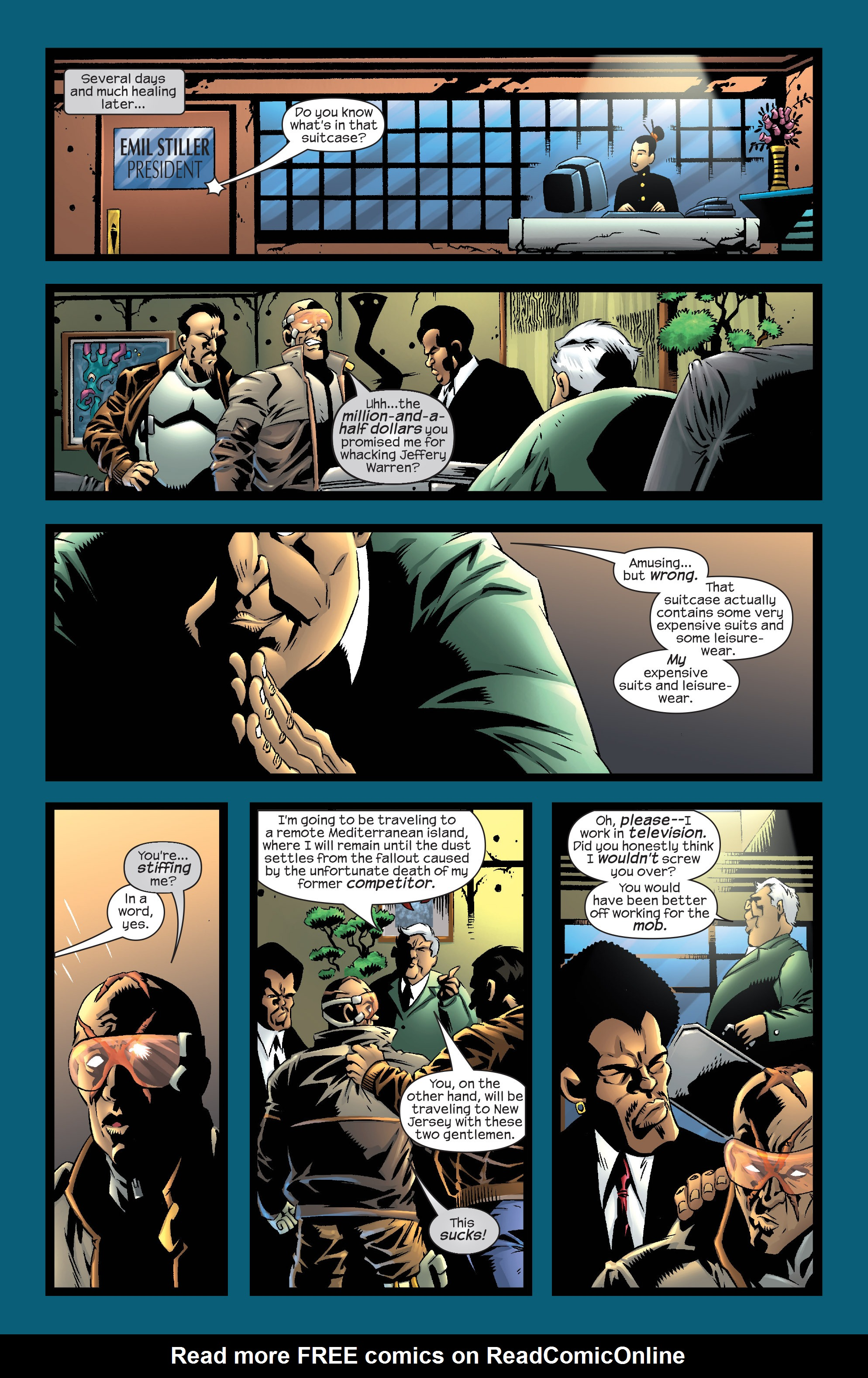 Read online Agent X comic -  Issue #12 - 20
