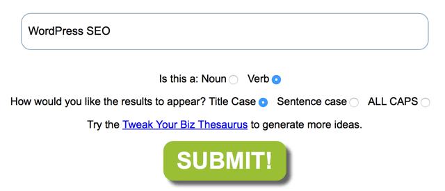 Title-generator