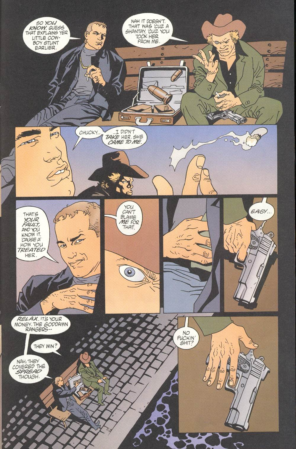 Read online 100 Bullets comic -  Issue #7 - 21