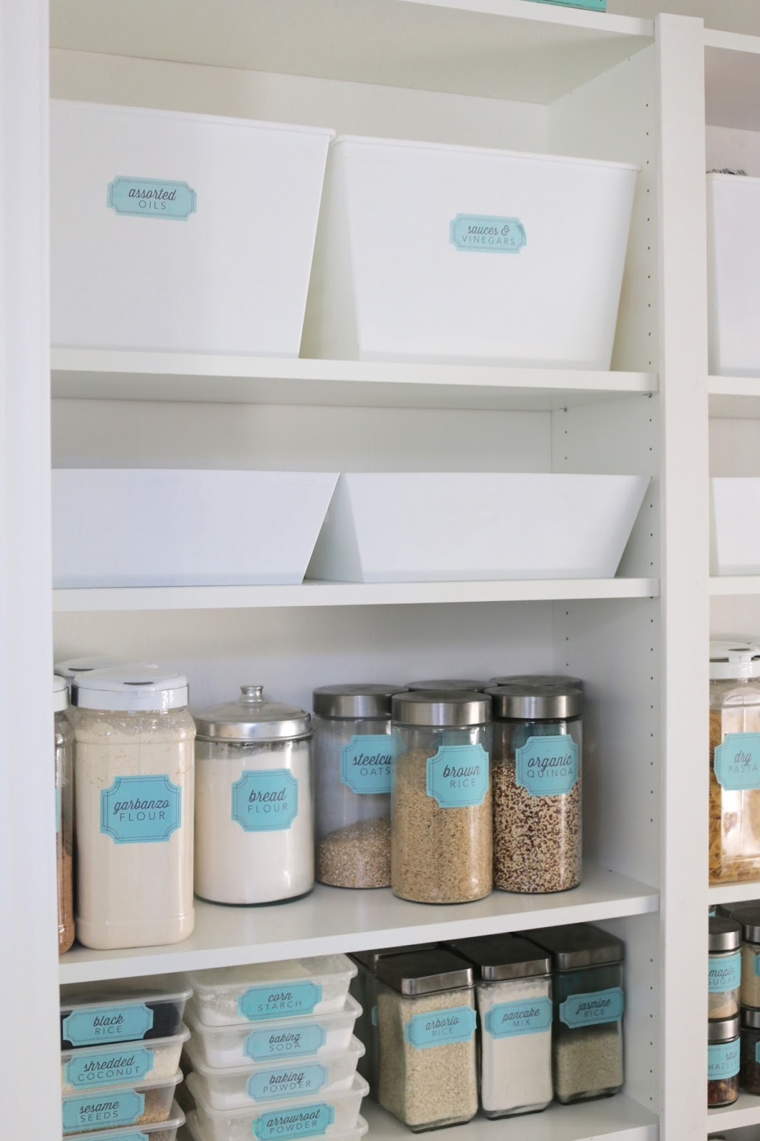 Pantry Makeover! Getting rid of those wire shelves with an Ikeahack