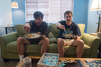 Paddleton 2019 Netflix movie still Ray Romano Mark Duplass