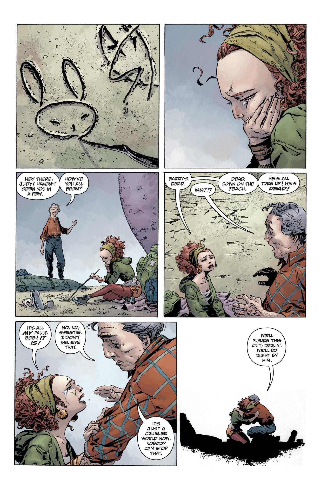 Read online Abe Sapien comic -  Issue #5 - 7