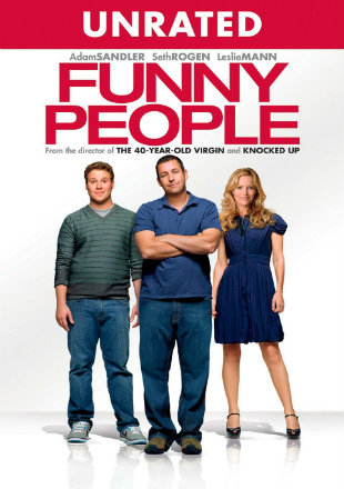 Funny People 2009 BRRip 720p Dual Audio In Hindi English Unrated Cut Watch Online