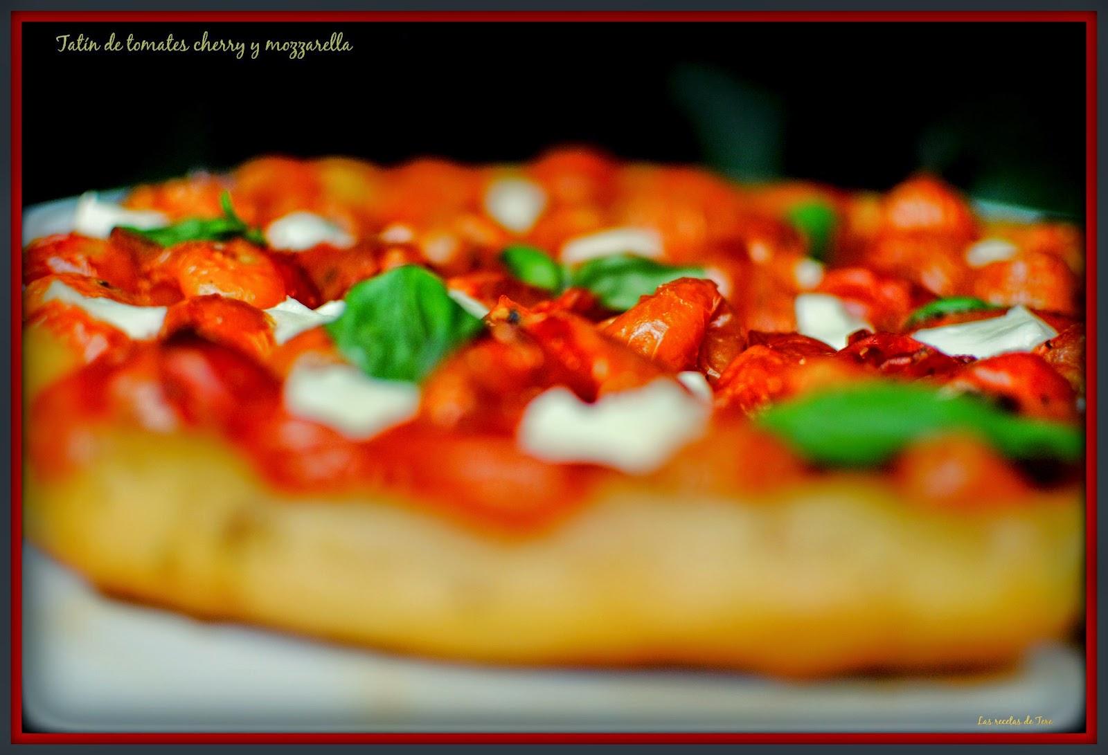 tatín de tomates cherry y mozzarella tererecetas 03