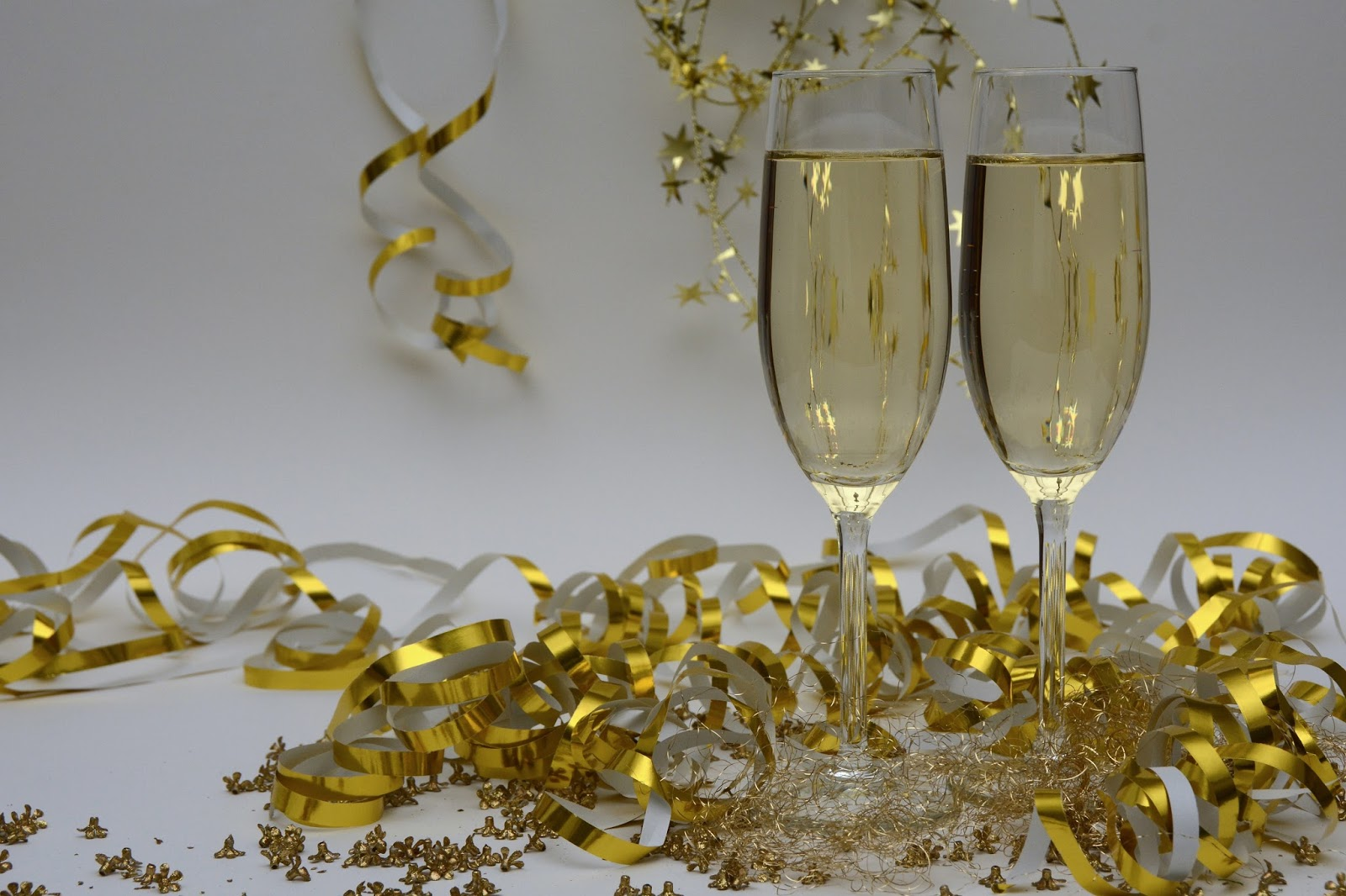 Champagne Glasses New Years Eve