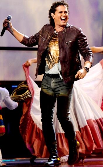 Foto de Carlos Vives al ritmo de su canción