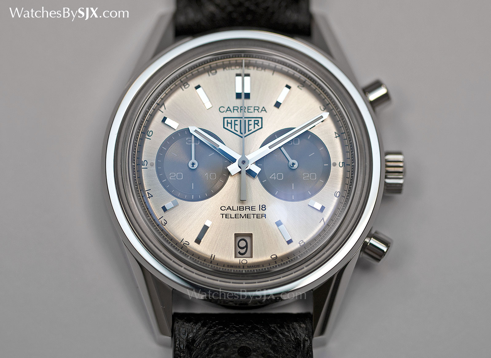 b443dbbc6c7 Watches By SJX  Hands-On with the TAG Heuer Carrera Calibre 18 Telemeter