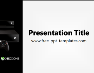 Xbox one ppt template free powerpoint templates - Xbox one wallpaper template ...