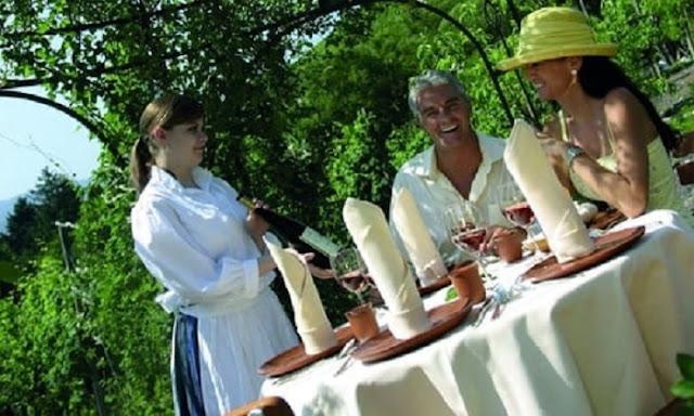 Jantar e prova de vinhos em Chianti