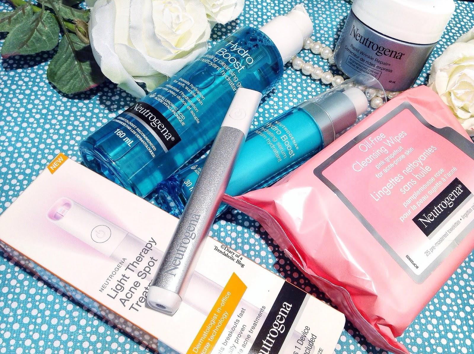 Diary Of A Trendaholic Neutrogena Hydro Boost Skincare New