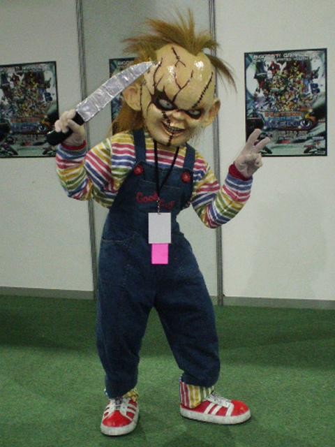 Cosplay para Halloween Chucky Muñeco Diabolico